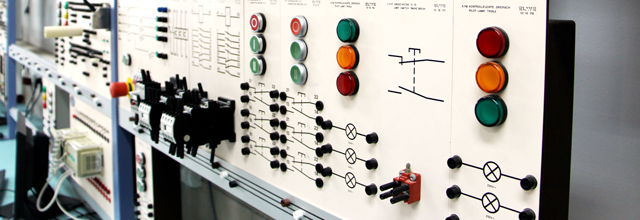 an industrial electrical system