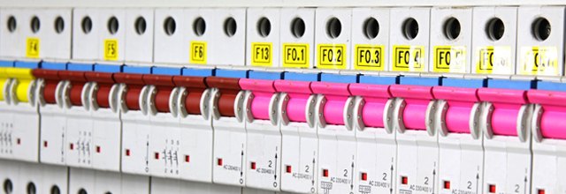 Commercial fuse box